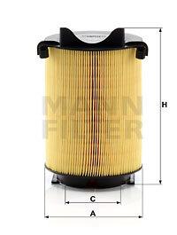 filtru aer C 14 130 MANN-FILTER